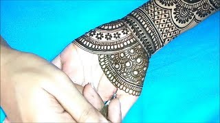 New Latest Bridal Mehndi Design For Full Hand || Latest Mehndi Design For Wedding