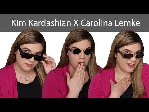 Carolina Lemke X Kim Kardshian West   Tempest & Indra Sunglasses