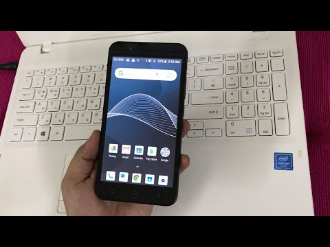 AT&T AXIA / Cricket Vision (QS5509A) FRP/Google Lock Bypass Android 8.1.0 WITHOUT PC - METHOD #2