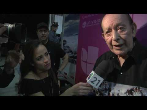 Flaco Jimenez, Pueblo Fest, Univision 21 Interview, Fresno