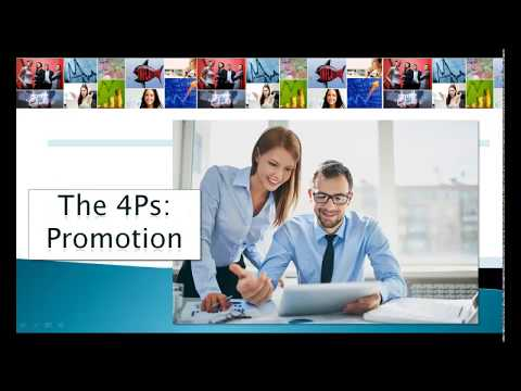 The Four Ps   Promotion