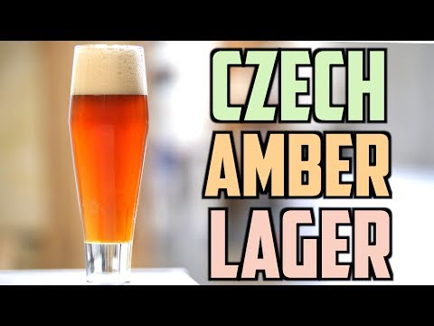How To Brew Czech Amber Lager | Brewing With Distilled Water | Water Chemistry For Beer