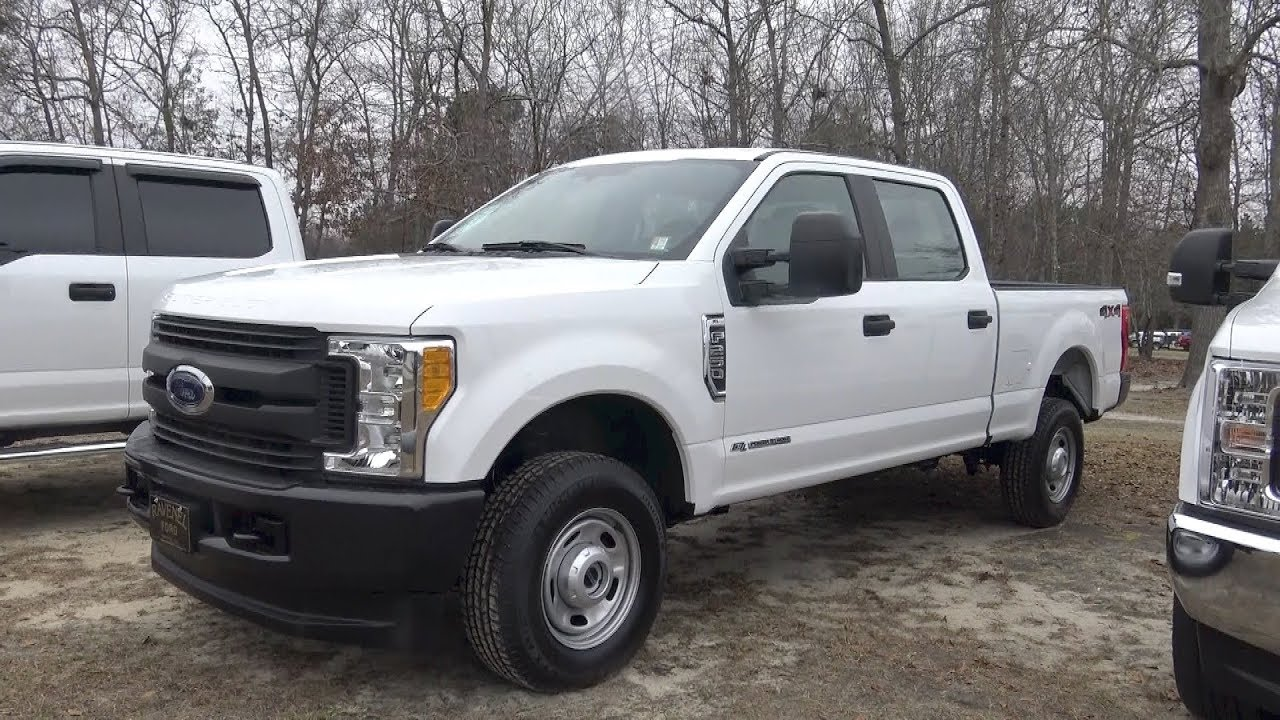 here 39 s a 2017 ford f250 xl work truck diesel for sale review condition report at ravenel. Black Bedroom Furniture Sets. Home Design Ideas