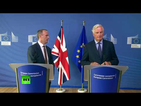 LIVE: Dominic Raab and Michel Barnier hold joint presser after Brexit talks