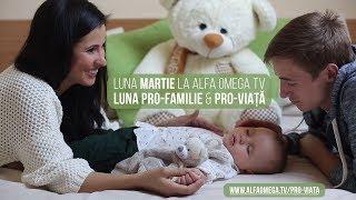 MARTIE - Luna Pro-Familie si Pro-Viata la Alfa Omega TV