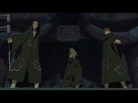 Акацуки пришли на помощь Наруто | Наруто против Менмы