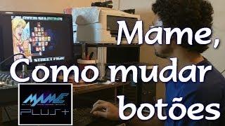 Mame 32 Como mudar botões e jogar no Joystick