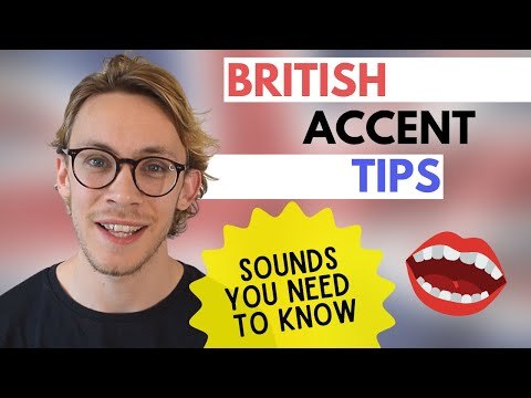 How to Sound British (RP)   4 Important Sounds