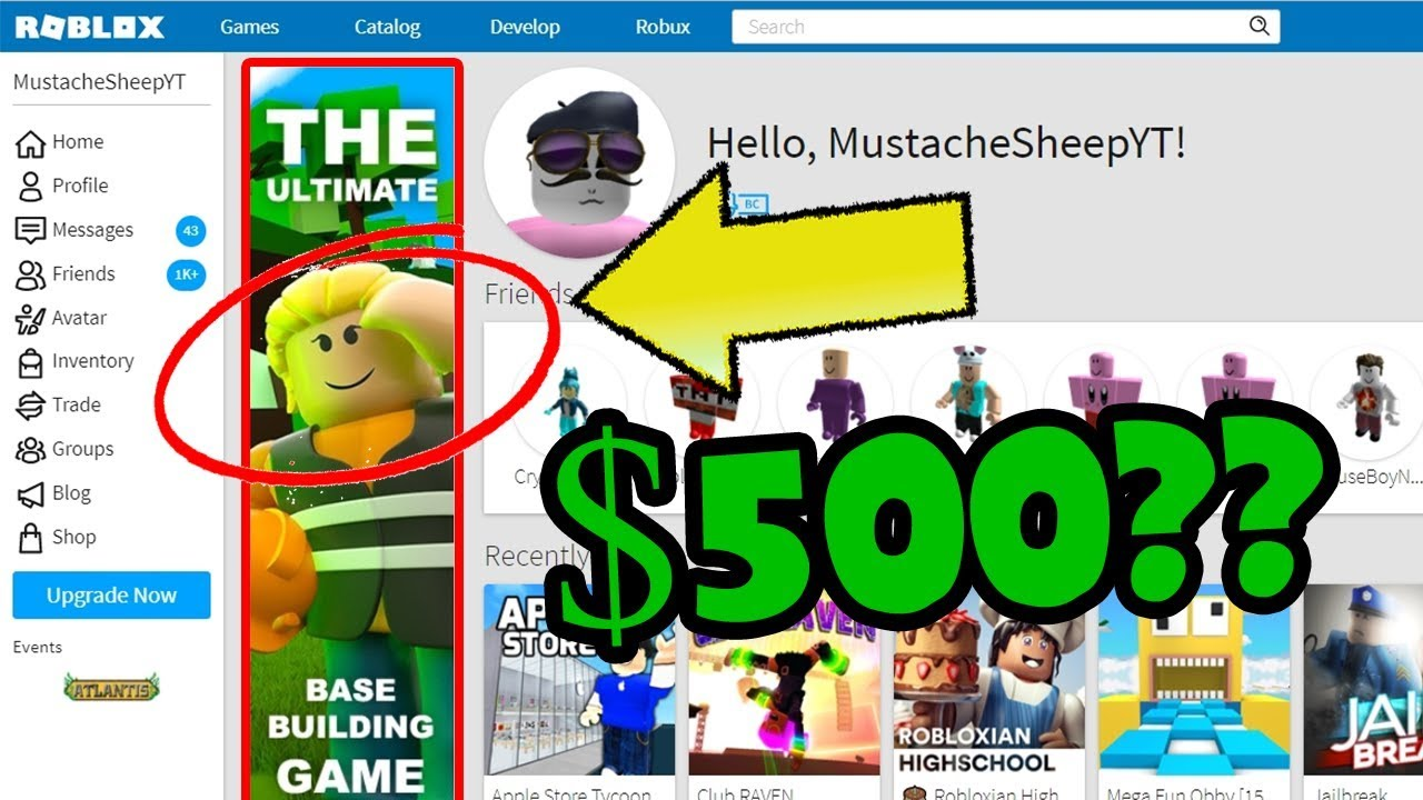 How To Make Roblox Ads For Groups On Computer How Much Does It Cost To Advertise On Roblox Youtube