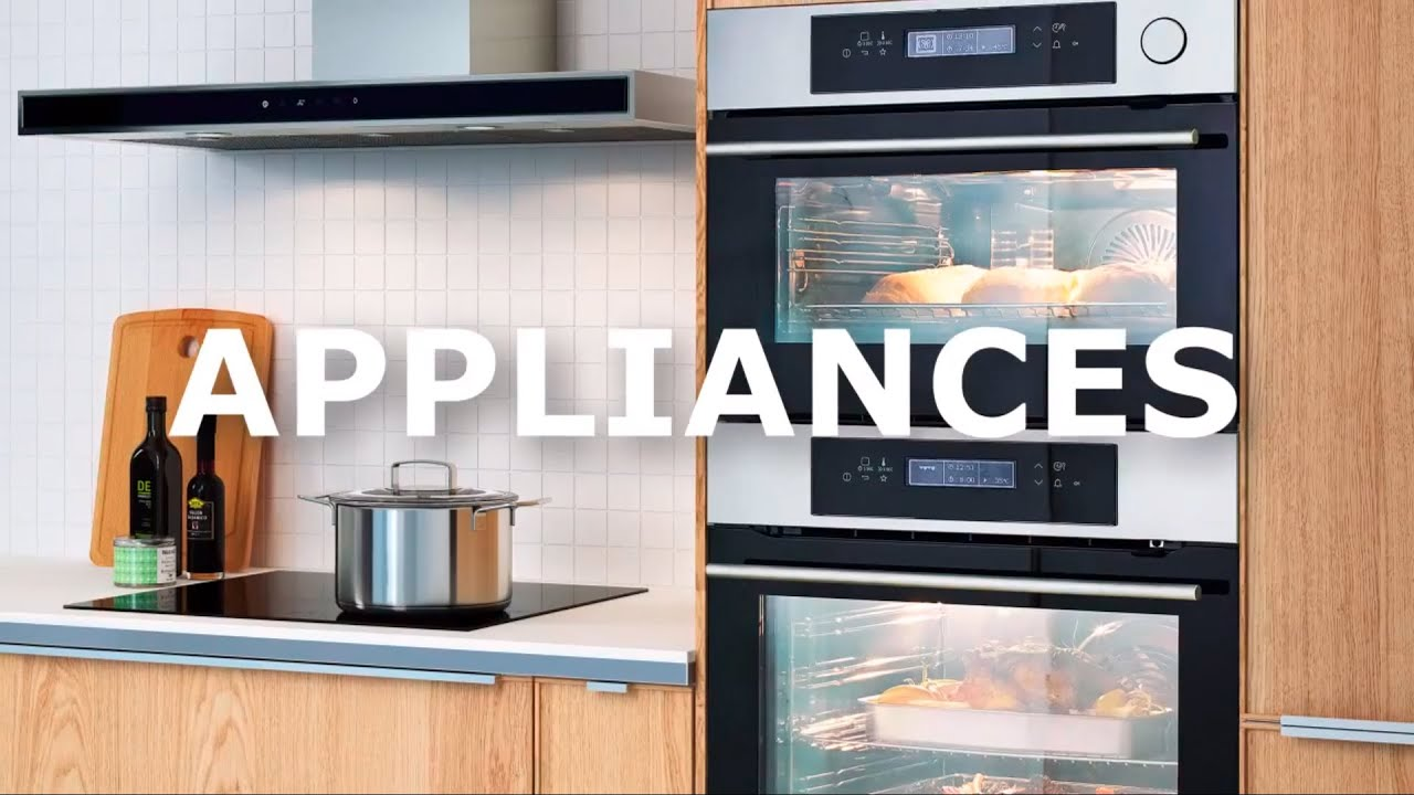 Get The Right Ikea Appliances For Your Kitchen Video Youtube