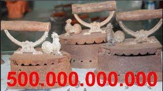 Bí mật chiếc bàn là con gà vàng được săn lùng có giá trăm tỷ