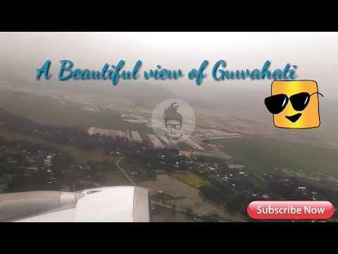 Guwahati to New Delhi Flight || Bad weather conditions || heavy rain