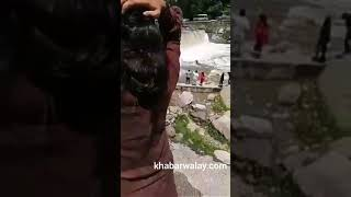 Exclusive footage of bridge collapse at Neelum Valley Azad Kashmir.