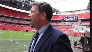 ARE YOU WITH ME??? - EDDIE HEARN DELIVERS CHURCHILL STYLE SPEECH ON ANTHONY JOSHUA AT WEMBLEY!