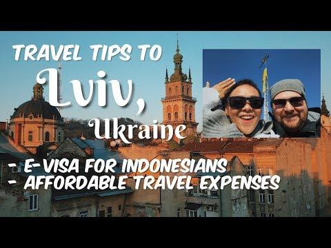 EUROPE TRIP MURAH / LVIV, UKRAINE | VLOG #1