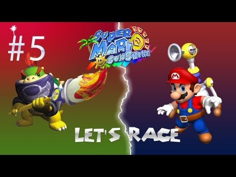 Let's race! Super Mario Sunshine (Met Njinwezen) Deel 5 - Zand + Vogel = Zandvogel = Bagger
