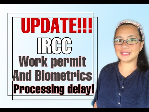 Update On  Work Permit And Biometric Processing Times Delay In Canada 2020 #workpermit #biometric