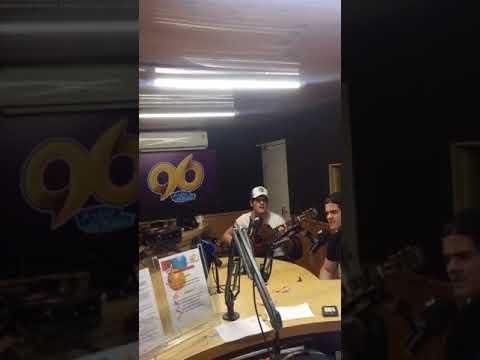 Live de Breno e Caio Cesar na radio 96 fm Natal