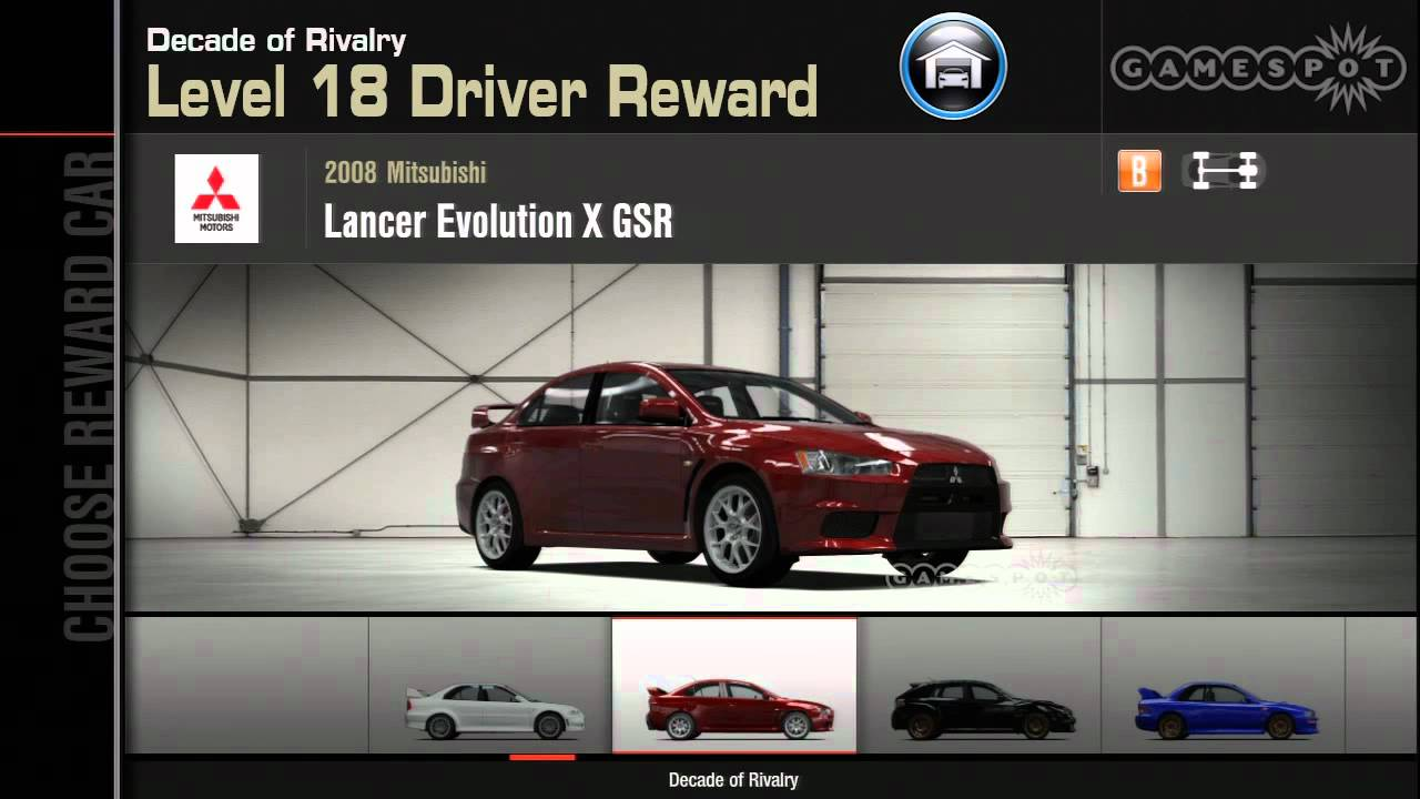 Forza Horizon  Reward Cars
