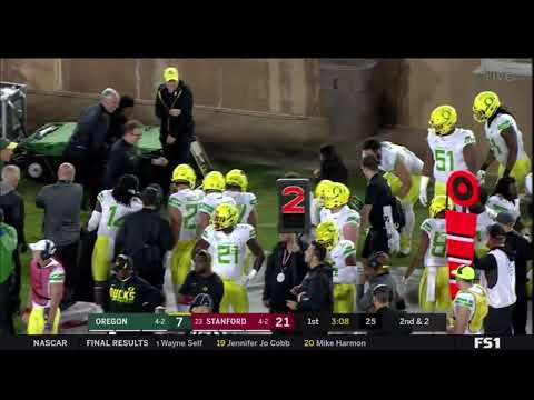 Funny College Football Game Delay - Rabbit is on the loose!