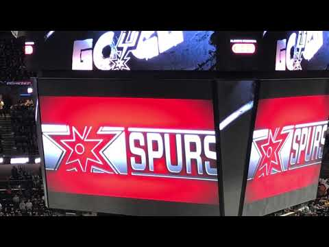 2018 Spurs Playoff Hype Video- Go Spurs Go