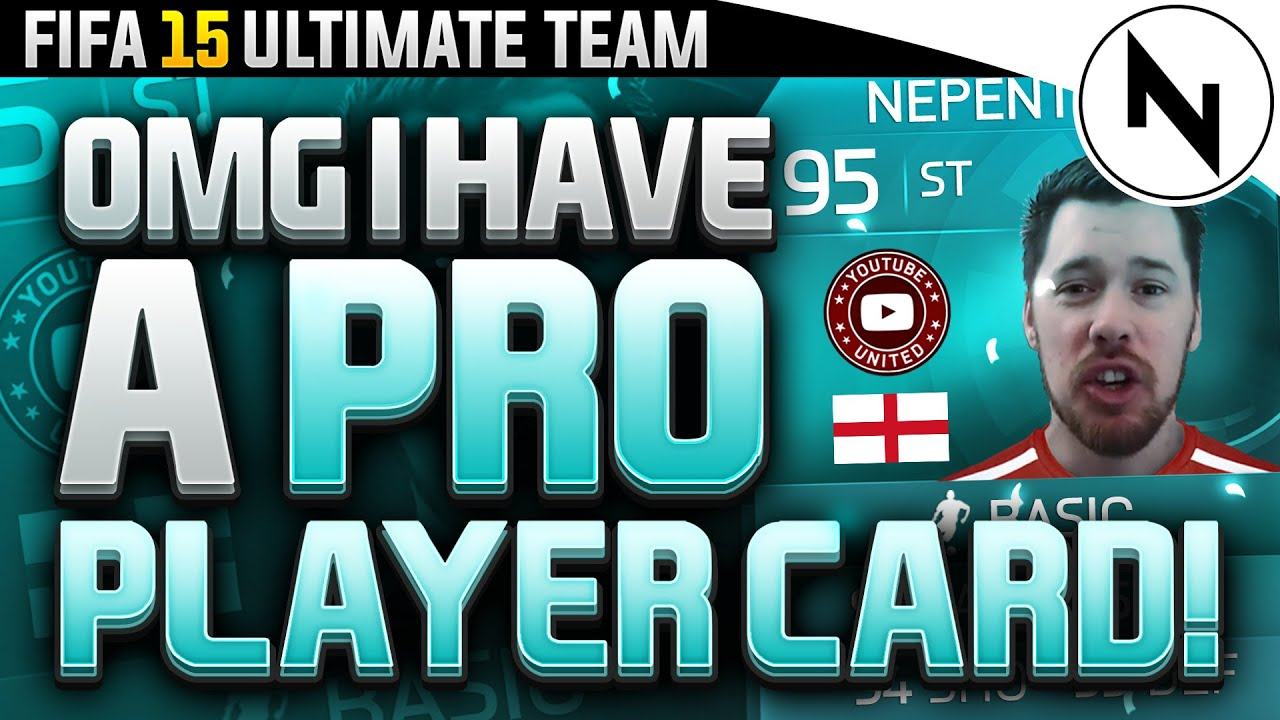 OMG I HAVE A PRO PLAYER CARD! - FIFA 15 Ultimate Team ...