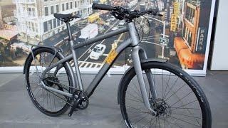 Ghost Square Urban (X): Urban-Bikes mit Riemen und Alfine-Nabe