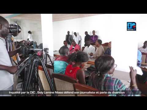Inquiété par la DIC , Sidy Lamine Niass défend son journaliste et parle de diversion