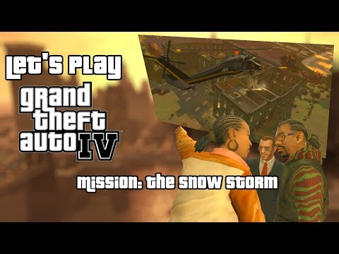 Let's Play: GTAIV - Mission: The Snow Storm [PC][HD] 1080p