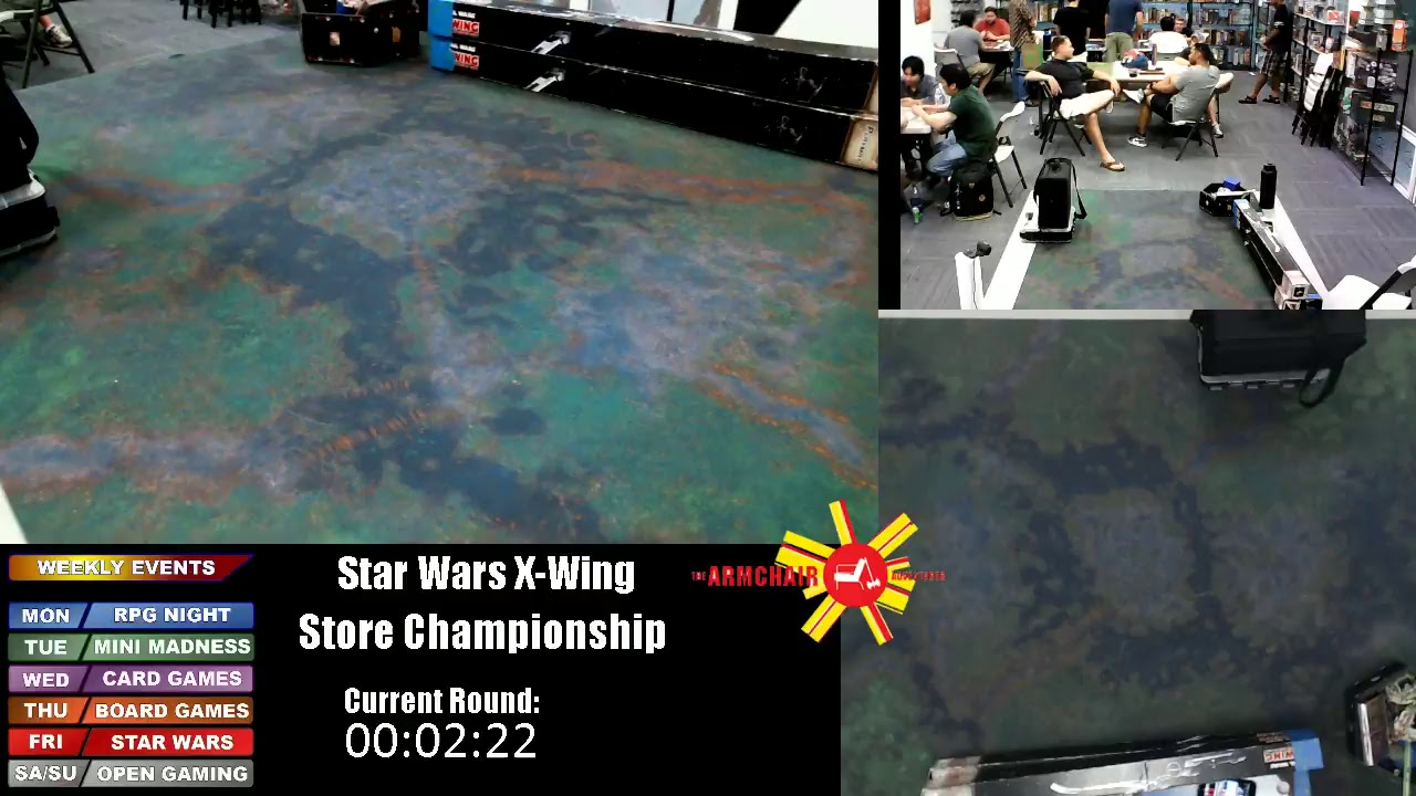 Star Wars X Wing Store Championship Youtube