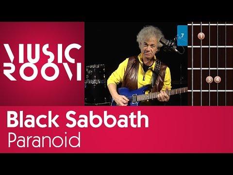 Paranoid - Black Sabbath - Tutorial di chitarra - Music Room thumbnail