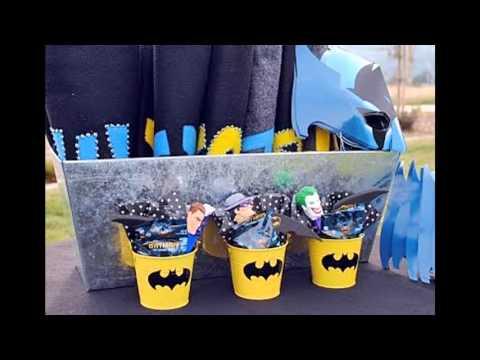 Cool Batman birthday party decorations ideas