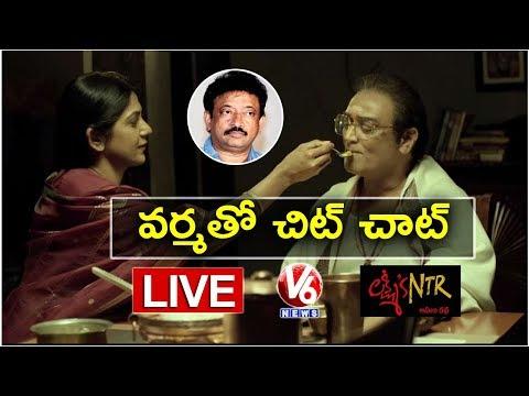 Ram Gopal Varma LIVE On Lakshmi's NTR Movie   RGV Special Interview   V6 News