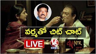 Ram Gopal Varma LIVE On Lakshmi's NTR Movie | RGV Special Interview | V6 News