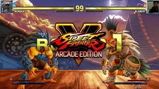 Street Fighter Arcade Edition 5 Blanka Showcase
