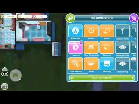 Sims Freeplay - How to Remove a Room or House