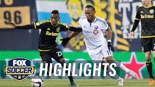 Columbus Crew vs. Montreal Impact | 2015 MLS Highlights