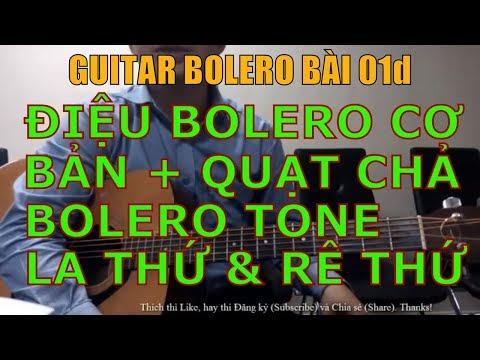 Điệu Bolero cơ bản tone Rê thứ + La thứ (Hướng dẫn tự học đàn tân nhạc) - Bài 01