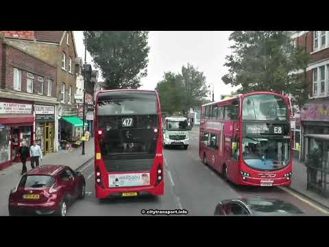 West London Limited Stop Bus Ride