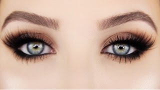 How To: Easy Smokey cat Eye | Jaclyn Hill