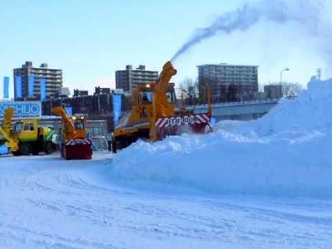 2014年12月4日岩手県ロータリー除雪車 HTR263   by kiha100 channel
