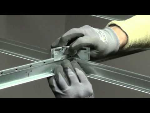 USG Ceilings: How to Install the USG DH4 Seismic Separation Joint Clip