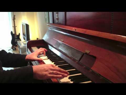 Angie / Rolling Stones - Cover version piano part Nicky Hopkins