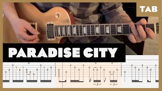 Paradise City Guns N' Roses Cover | Guitar Tab | Lesson | Tutorial
