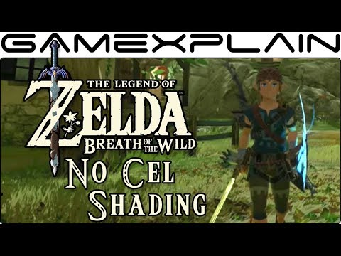 What Does Breath of the Wild Look Like Without Cel Shading? A New Mod Gives the Answer