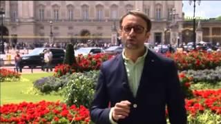 """جولة في قصر """"باكنغهام"""" وحديقة """"الهايد بارك"""" في لندن"""