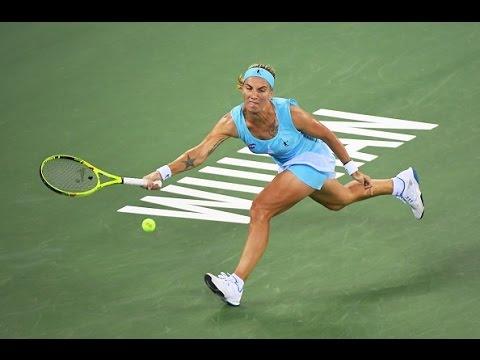 2016 Wuhan Open Quarterfinal   Svetlana Kuznetsova vs Agnieszka Radwanska   WTA Highlights