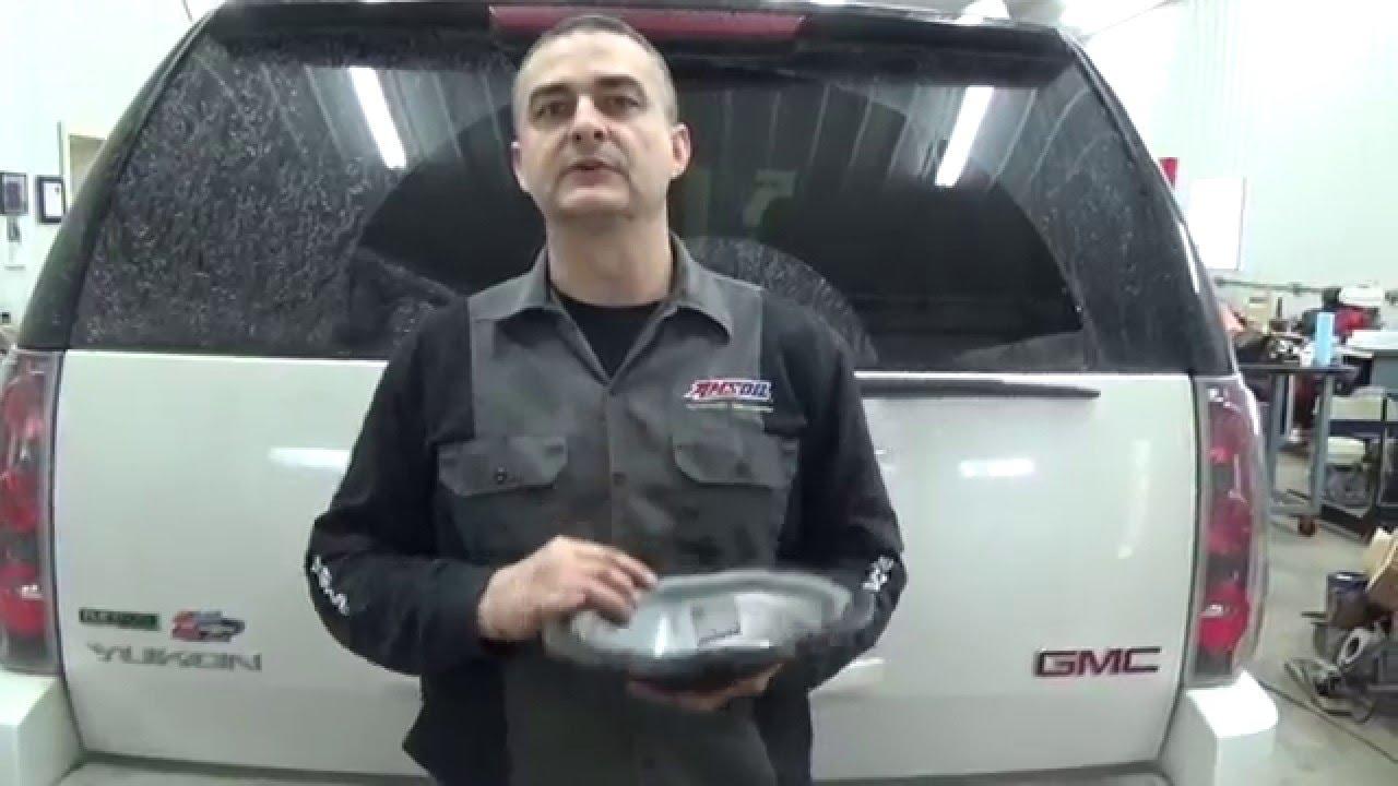 2012 GMC Yukon Denali Differential Fluid Change