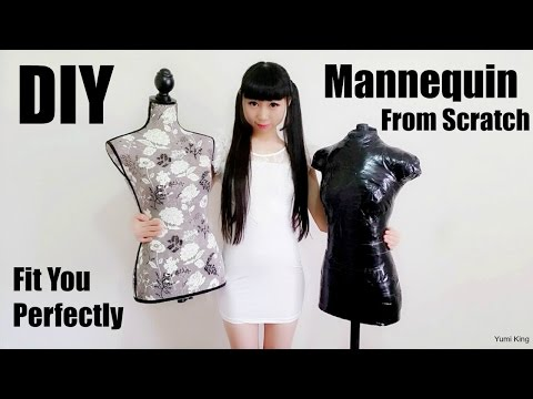 DIY  Mannequin from Scratch | DIY Homemade Dress Form Fits you Perfectly