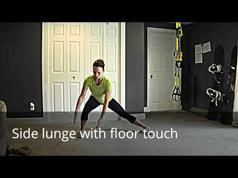 Side Lunge with Floor Touch